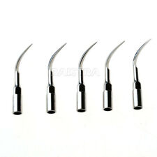 5pcs Dental Ultrasonic Scaler Scaling Perio Tips P1 For Ems Woodpecker Handpiece