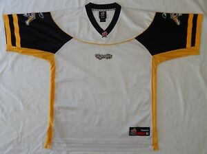 Hamilton Tiger Cats BLANK REEBOK FOOTBALL JERSEY CFL Stitched Logo ... 76f301f46