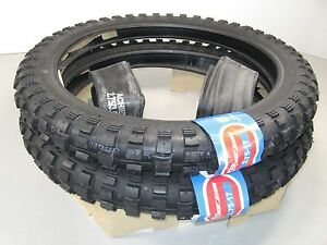 New Pair Traction Knobby Tires Tubes Set 2 75 X 17 Ct90 Ct110 Trail 90 110 C80 Ebay