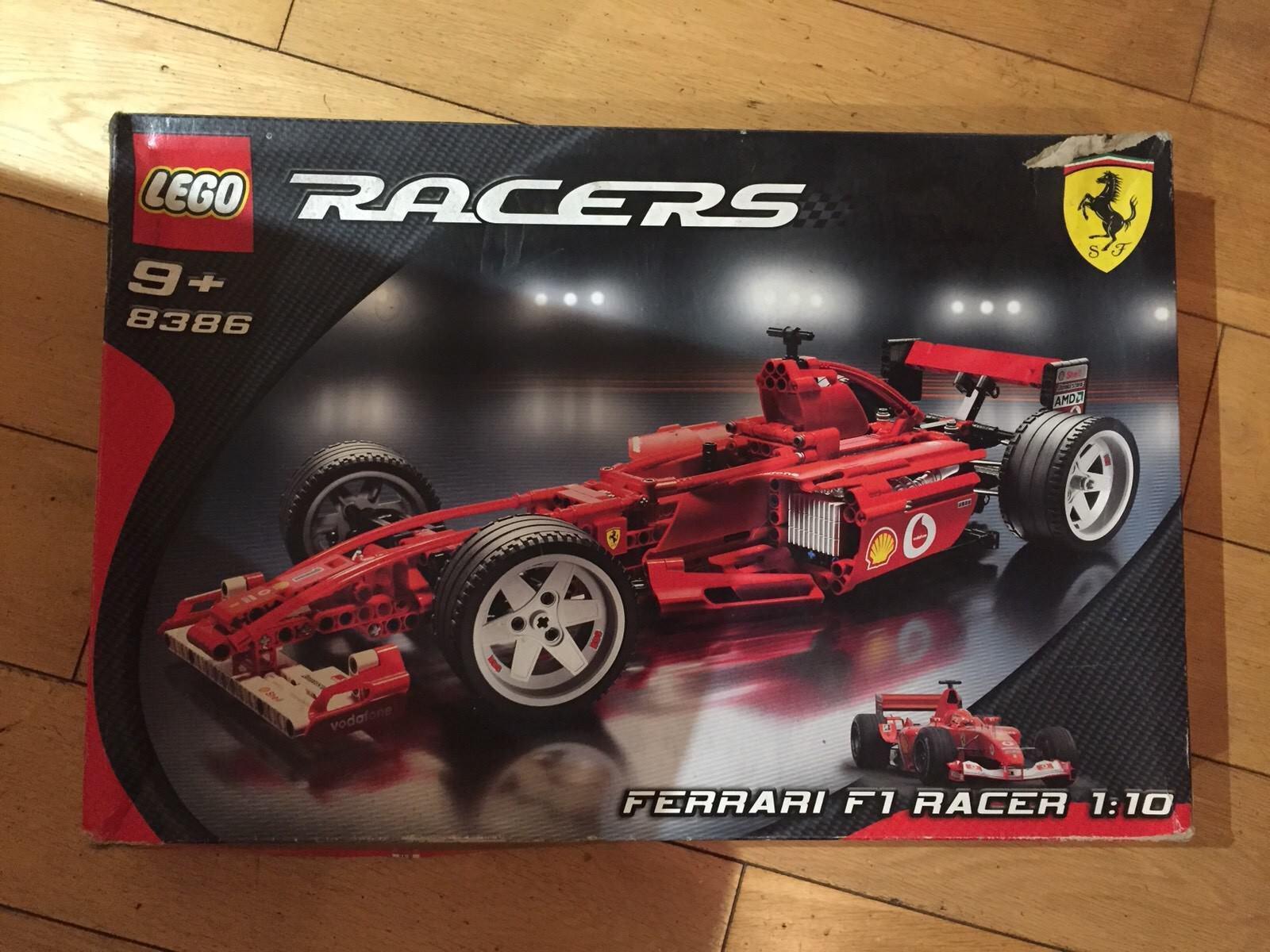 LEGO Ferrari F1 Racers 8386 1 10 scale scale 10 Collectors Item - BOXED - UNUSED 2c9bf7