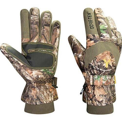 Hot Shot GOE-333C-L The Hunter Mens RT Edge Camo Large Hunting Gloves