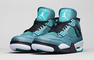 6505622ab66614 Nike Air Jordan 4 IV Retro Teal Size 14. 705331-330 1 2 3 5 6