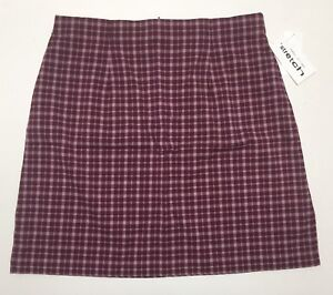 Women-s-Poly-Rayon-Spandex-Plus-Size-Plaid-Skirts-16W-18W-20W-22W-24W-26W-NWT