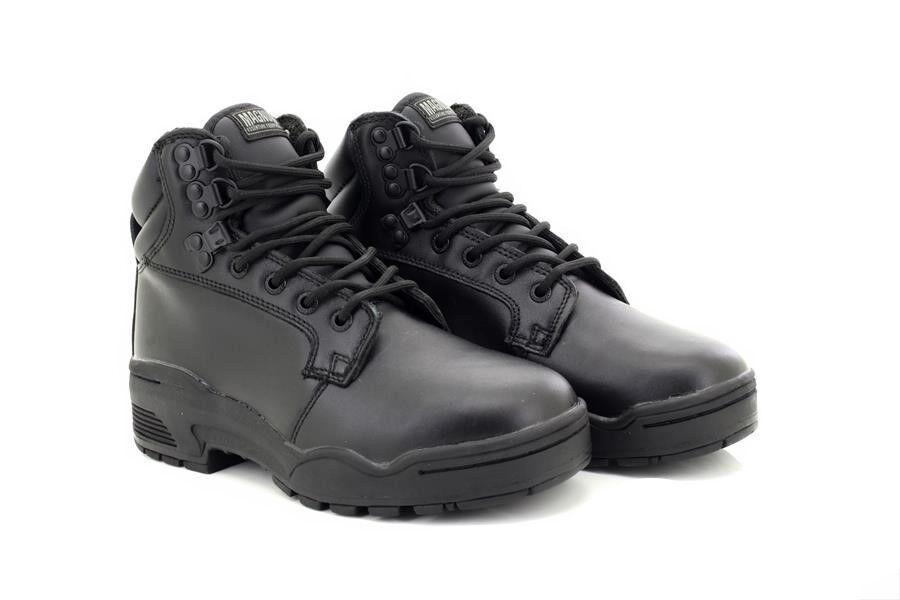 Militar Magnum Patrulla M964 Unisex Cuero Seguridad botas