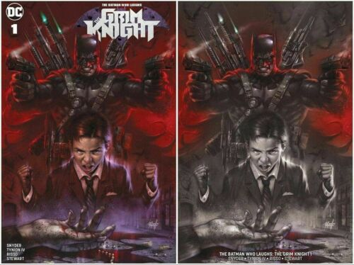 BATMAN WHO LAUGHS GRIM KNIGHT #1 LUCIO PARRILLO VARIANT 2 COVER VARIANT SET