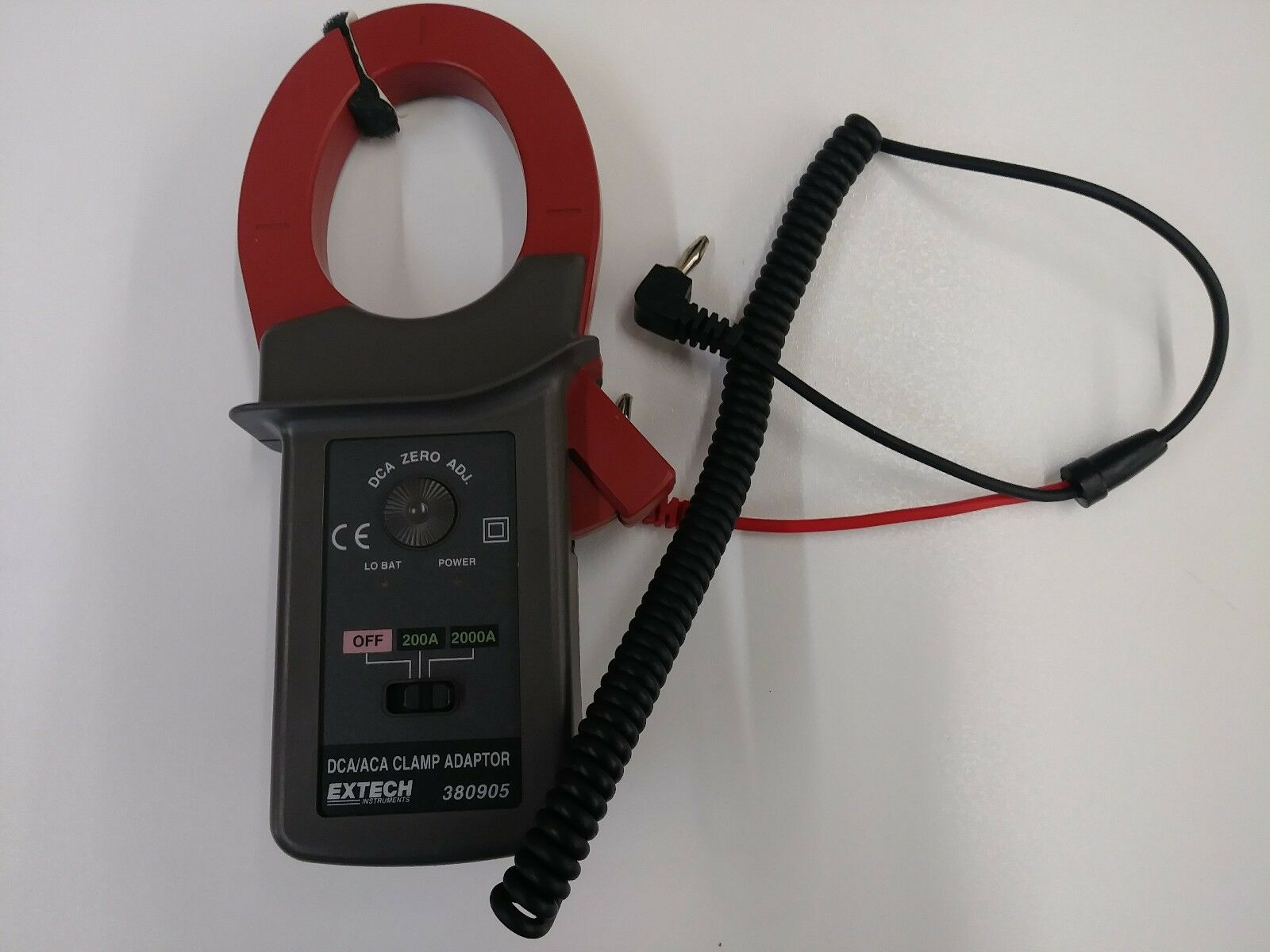 Extech 2000 Amp Clamp On Multi Meter Adapter.