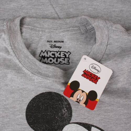 Vintage Retro Style Fashion Top Official Disney Mickey Mouse Men/'s Clothing