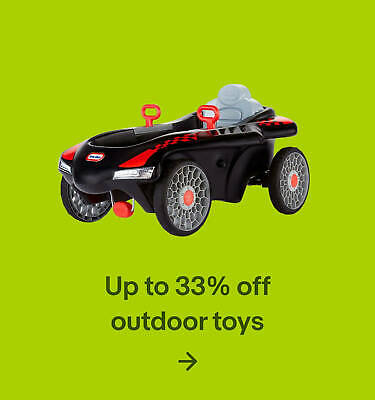 Up to 33% off outdoor toys