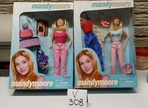 2X Mandy Moore Doll Play Along Item # 78200 NIB 2000