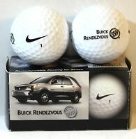 Two Buick Rendezvous Golf Balls Nike