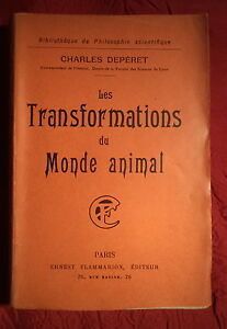 1907-Charles-Deperet-LES-TRANSFORMATIONS-DU-MONDE-ANIMAL