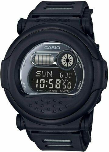 NEW-Casio-G-Shock-G001BB-1D-Classic-Matte-Digital-Black-Resin-Strap-Men-039-s-Watch