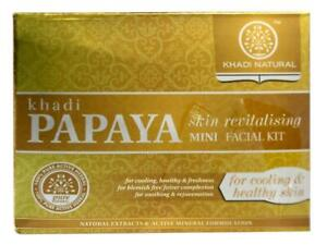 Khadi-Papaya-Skin-Revitalising-Mini-Facial-Kit-75gm-for-Cooling-amp-Healthy-Skin