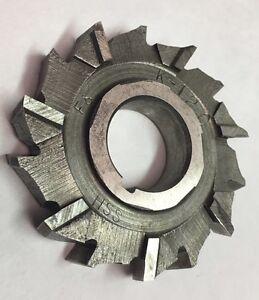 """2-1//8 x 3//16 x 3//4/"""" HSS Side Milling Cutter Staggered Tooth"""