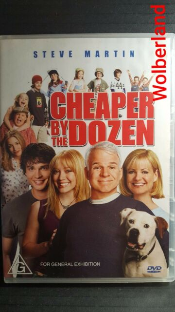 Cheaper By The Dozen [ DVD } LIKE NEW, Region 4, FREE Next Day Post........9807