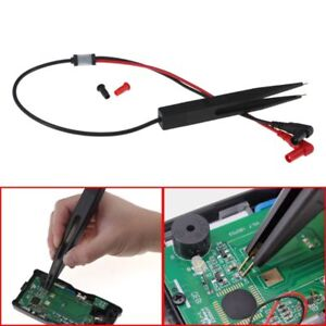 SMD-Inductor-Test-Meter-Clip-Probe-Tweezers-For-Resistor-Multimeter-Capacitor