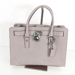 MICHAEL KORS Damen Henkel Tasche Shopper Grau Leder ...