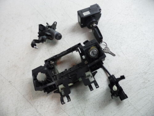 2004-2010 AUDI A8 A8L IGNITION CYLINDER KEY LOCK SET MODULE REMOTE