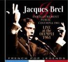 Jacques Brel - Enregistrement Public a LOlympia 1 CD Pop Legend