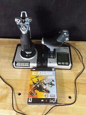 Saitek X52 Joystick & Throttle Flight System DCS: Black Shark GREAT CONDITION A7