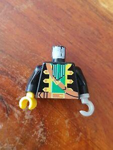 LEGO-Set-6289-Personnage-Ref-973p36c01-Minifig-Torso-Pirate-Captain-Pattern