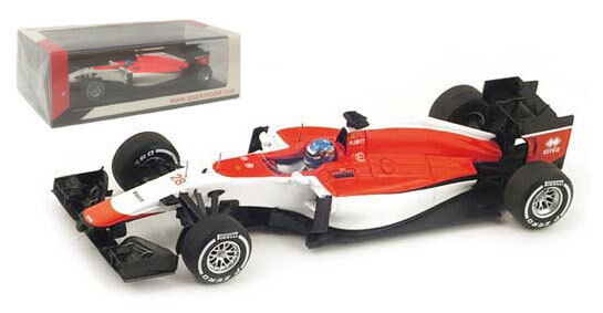 Spark S4616 Manor Marussia MR03B Spanish GP 2015 - Will Stevens 1 43 Scale