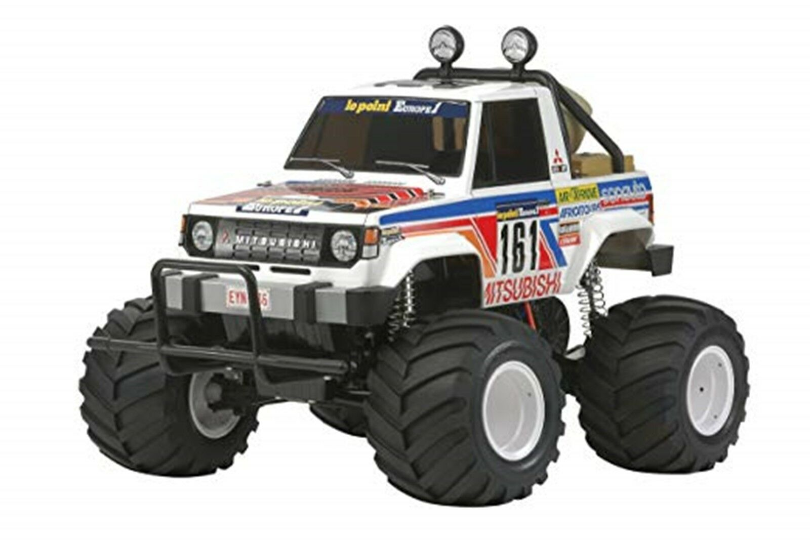 Tamiya 1 10 RC Car Series No.499 Mitsubishi Pajero Willie Kit 58499 JAPAN NEW