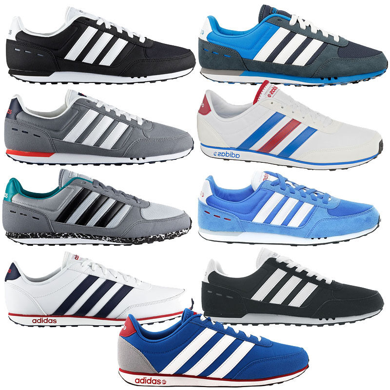 adidas City V Racer Schuhe Sneaker Turnschuhe Sportschuhe Herren Damen NEU
