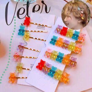 Cute-Cartoon-Bear-Hairpins-Women-Girls-Children-Barrette-Party-Gift-Hair-Clips-q