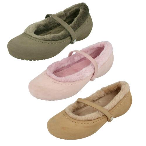 Crocs Chica Zapatos Planos Mocasín Nanook Niña