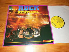 ROCK FESTIVAL VOL. 2 - V.A. (YARDBIRDS, HENDRIX) / HOLLAND-LP 1986