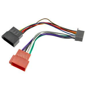 Auto-Radio-Adapter-Kabel-DIN-ISO-Stecker-CQ-C-CQ-DFX-CQ-DP-fuer-Panasonic
