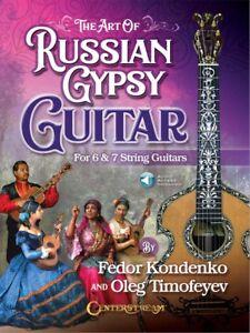 Ambitieux The Art Of Russian Gypsy Guitar-pour 6 Et 7 Cordes Guitares Livre 000278815-afficher Le Titre D'origine Les Catalogues Seront EnvoyéS Sur Demande