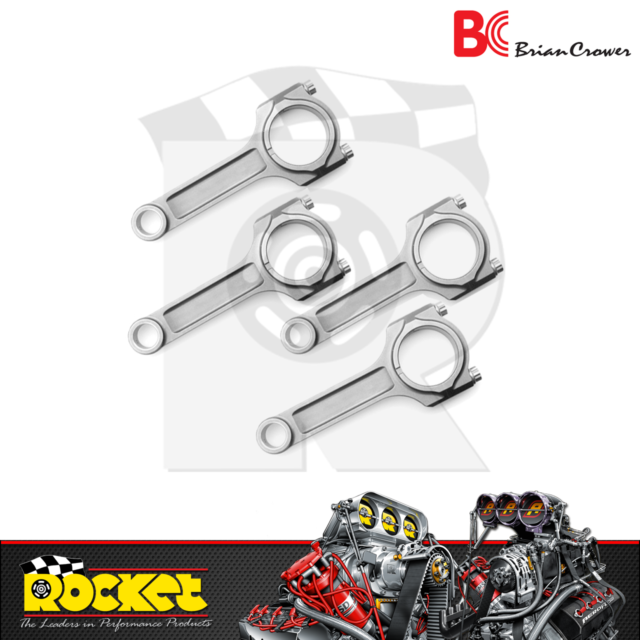 Brian Crower Sportsman H-Beam Connecting Rods Fits Mitsubishi 4B11 - BC6135