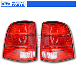 Details About Oem New 2002 2005 Ford Explorer Tail Lights Pair Lamps