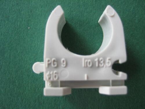 Rohr Clip Schelle KuPa Rohr Schelle Clipschelle M 16 20 25 32 40 50 63