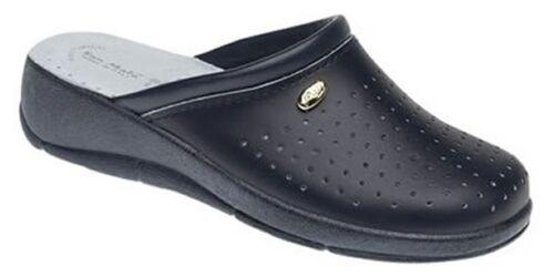 "World of Clogs /'San Malo /""Healthcare sabots en Bleu Marine-Nursing shoes"