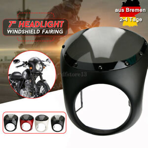 7-039-039-Scheinwerfer-Verkleidung-Lampenmaske-Windschutzscheibe-fuer-Harley-ATV-Roller