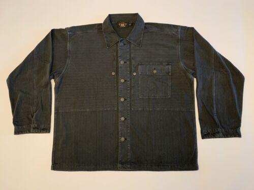 RRL Herringbone Twill Vintage Fit Overshirt