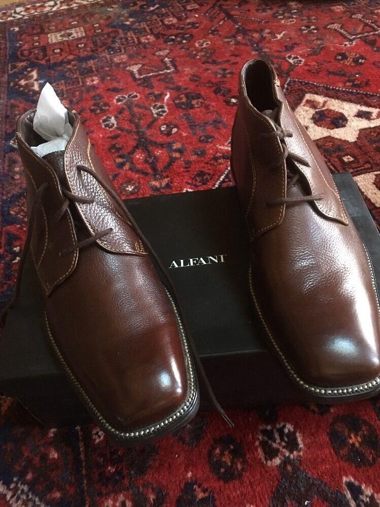 Alfani Bogolbrn Men's scarpe Dimensione 9 NWB   Sconto del 40%