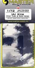 IAI Kfir  Pitot Tube & AoA Probe 1/72 MASTER-MODEL
