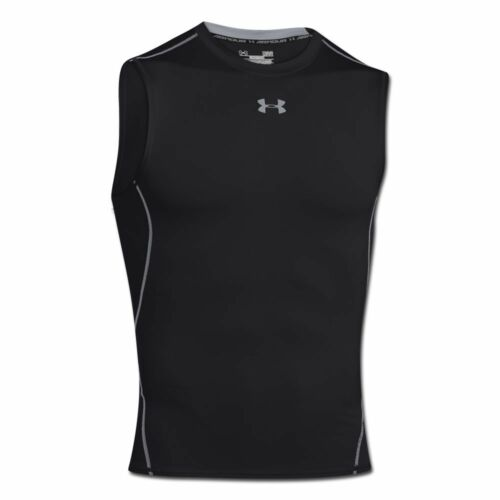 Under Armour Shirt HG ARMOUR Compression Sleeveless schwarz