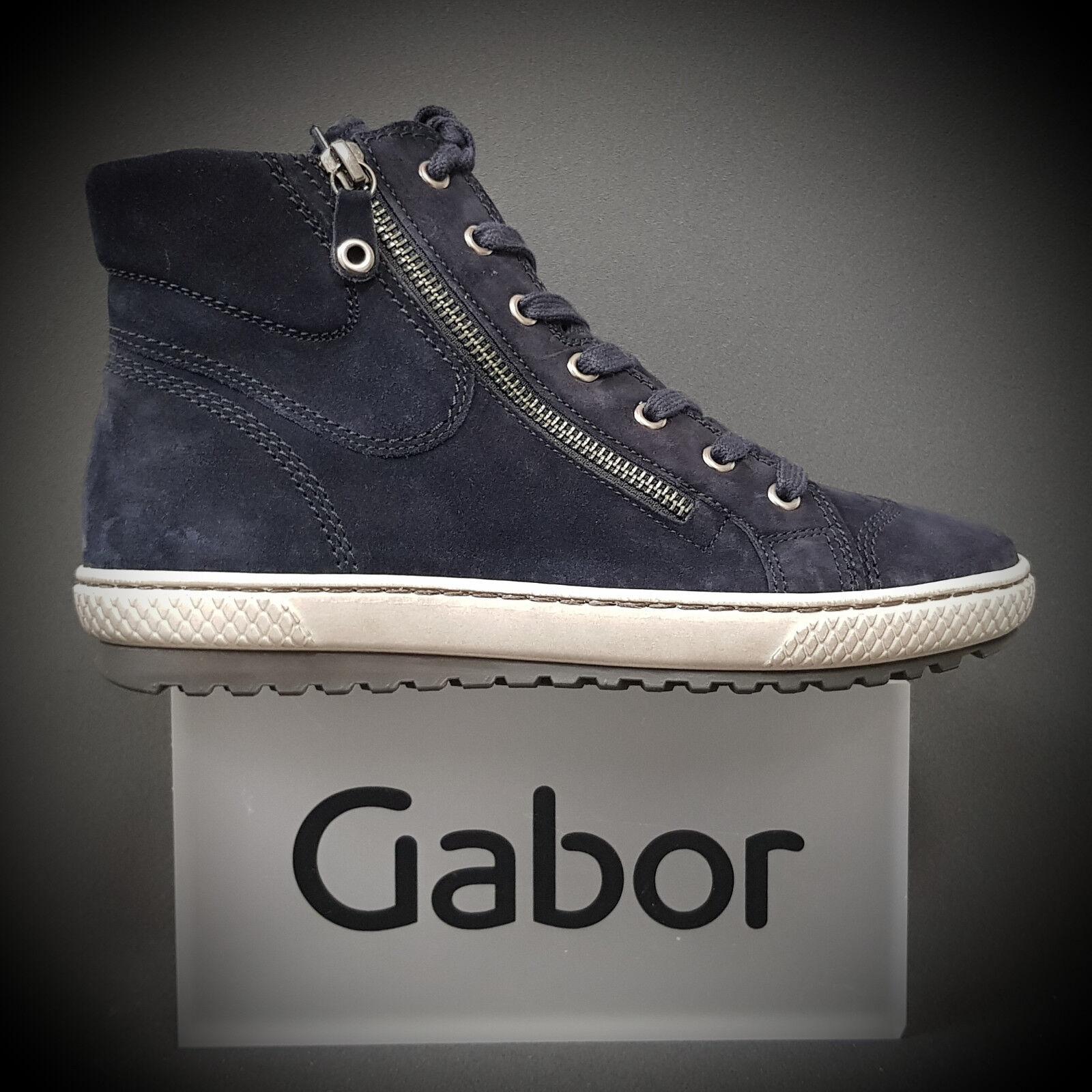 GABOR 93.754.10 Sneaker Stiefelette Steiefel Schuhe Sneaker 93.754.10 Stiefel ocean NEU a58e8d