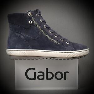 Steiefel Sneaker 93 Gabor 10 Stiefelette Boots Schuhe Neu 754 Ocean YBCxBPqI