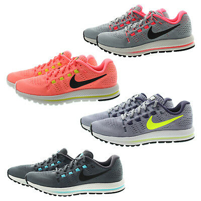 Nike 863766 Womens Air Zoom Vomero 12 Low Top Running Athletic Shoes  Sneakers b5853c9b5903