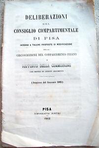 1862-STRADE-FERRATE-PISANE-E-COMMISSIONE-PER-CIRCOSCRIZIONE-DIPARTIMENTO-PISANO