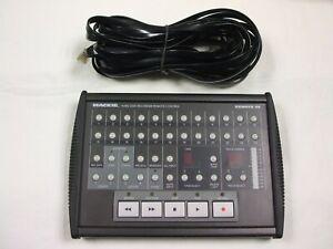 Mackie Remote 24 Avec Câble En Bon état De Fonctionnement Peu Utilisé Depuis L'achat-afficher Le Titre D'origine