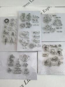 individuelle-Acryl-Clearstempel-zur-Auswahl-5-DESIGNS-WEIHNACHTEN-LIEBE