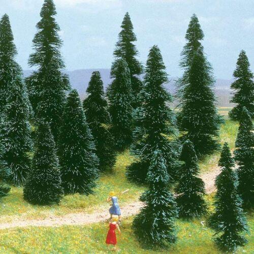 Bäume von Busch H0 10 Tannen zum Stecken 60-120 mm 6405
