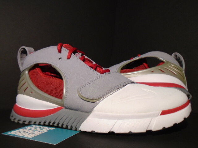 2006 NIKE AIR TRAINER HUARACHE 2K6 STEALTH GREY WHITE RED 1 313373-012 11